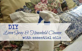 DIY Linen Spray & Household Cleaner