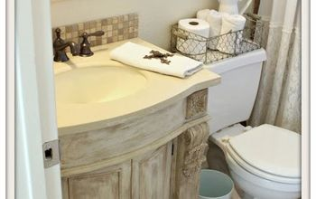 guest bathroom makeover, bathroom ideas, home maintenance repairs, painting