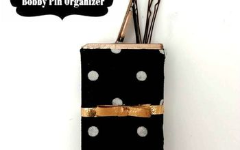How To Transform An Empty Tic Tac Pack Into Chic Bobby Pin Storage