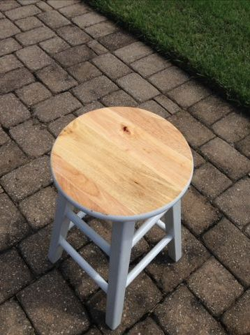 tie dye set of barstools tutorial, how to, painted furniture