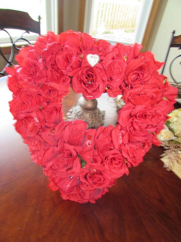 q valentine wreath does it need a ribbon, crafts, seasonal holiday decor, valentines day ideas, wreaths