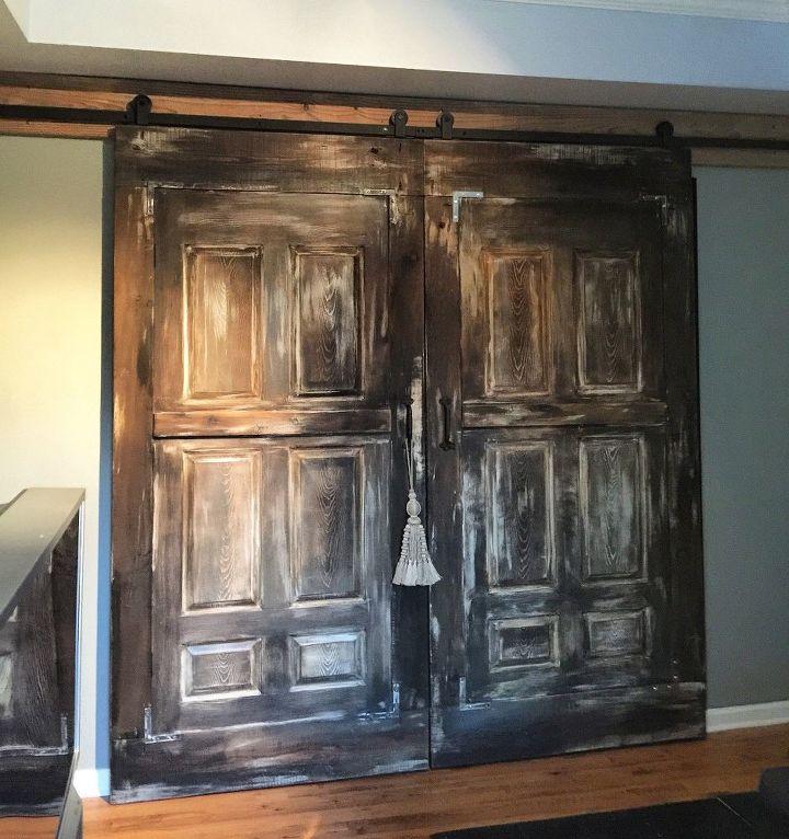 Barn Doors for a Nice Rustic Decor.#UnicornSpitStain   Hometalk