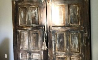 barn doors for a nice rustic decor, bedroom ideas, doors, painting, rustic furniture