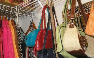 10 minutes time and a 1 junk find organized a closet, closet, organizing, storage ideas