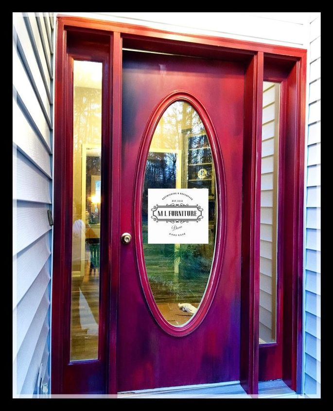 not just another red door unicornspitstain, curb appeal, doors, painting