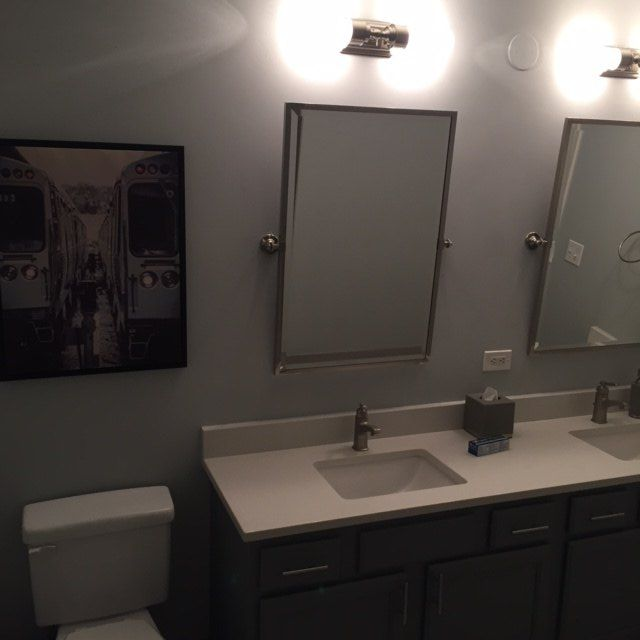 What to do with a contemporary bathroom wall   Hometalk