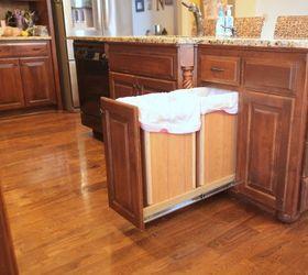 Diy Pull Out Trash And Recyling Bin, Diy, Kitchen Design, Storage Ideas,