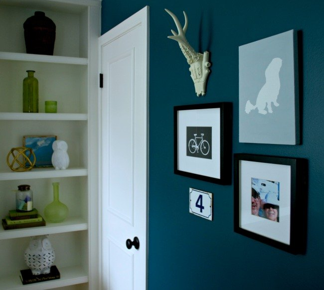 guest bedroom reveal, bedroom ideas, home decor, painted furniture