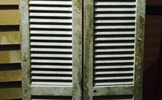 q need repurpose inspiration, repurpose building materials, repurposing upcycling, Wood shutter door Approx 6 ft tall