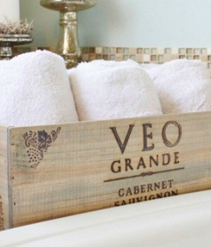 s 23 insanely clever ways to eliminate clutter, organizing, storage ideas, Get Easy Storage with a Wine Crate