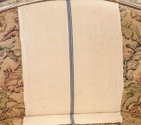 Merveilleux Easy Upholstery A French Settee And Grain Sack Scraps, Chalk Paint, Painted  Furniture,