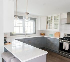 Nice A Gray And White Ikea Kitchen Makeover, Home Improvement, Kitchen Design,  Painting Amazing Pictures