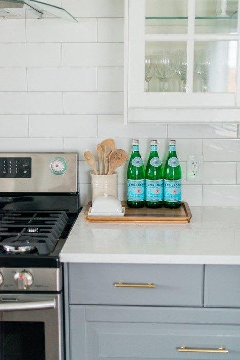 A Gray and White IKEA Kitchen Makeover | Hometalk
