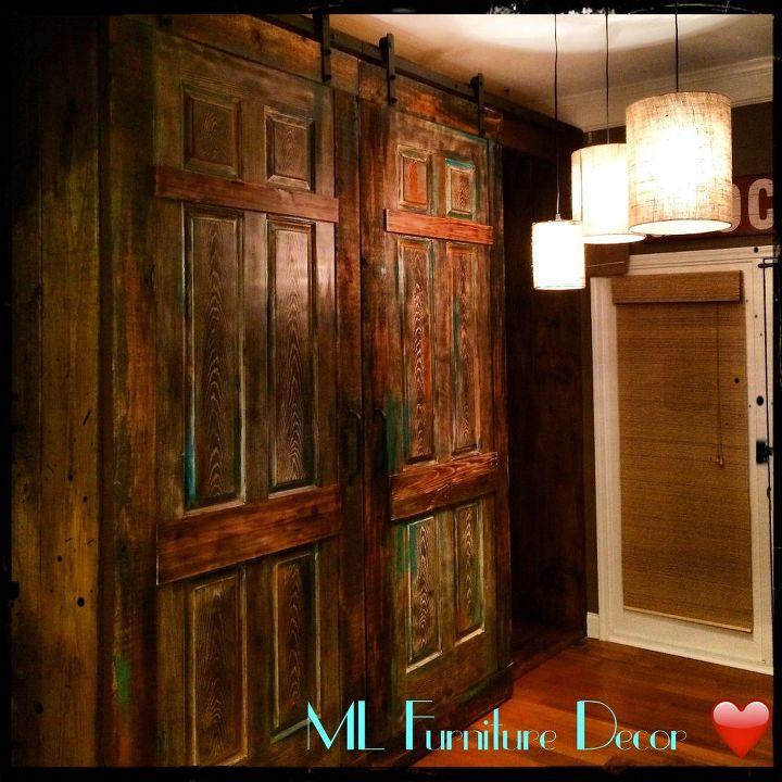 Barn Doors For A Pantry Closet Unicornspitstain Hometalk