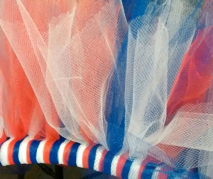 Just keep adding more tulle.