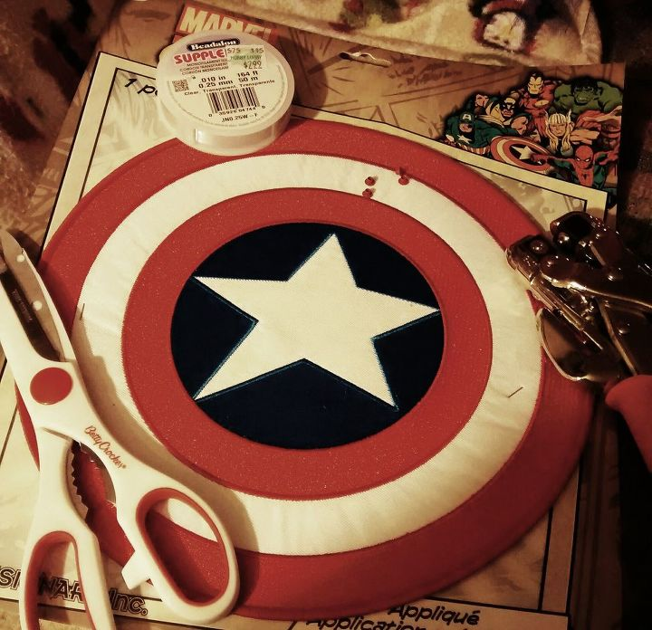 Adding the Captain America Patch.