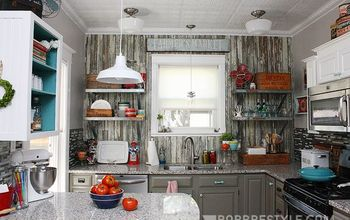 DIY Vintage Farmhouse Kitchen Remodel