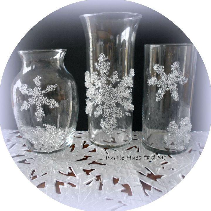 Decorative Filler Snowflakes Winter Theme Hometalk