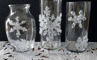 decorative filler snowflakes winter theme diy, crafts, seasonal holiday decor