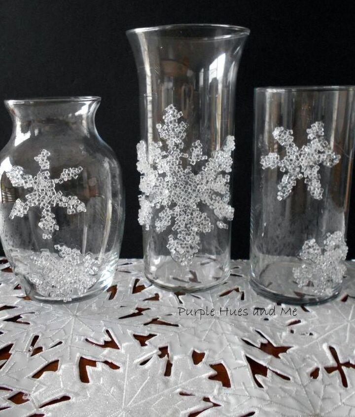 decorative filler snowflakes winter theme diy, crafts, seasonal holiday decor