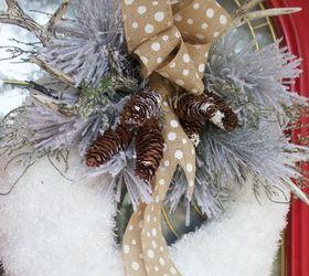 Winter Wreaths Part - 41: Diy Winter Wreath, How To, Seasonal Holiday Decor, Wreaths