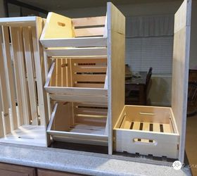 Rolling Kitchen Island and Pantry Storage Hometalk