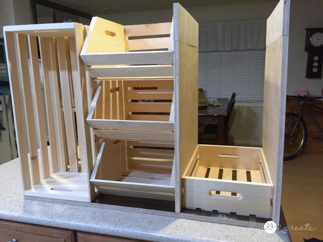 Rolling Kitchen Island and Pantry Storage | Hometalk