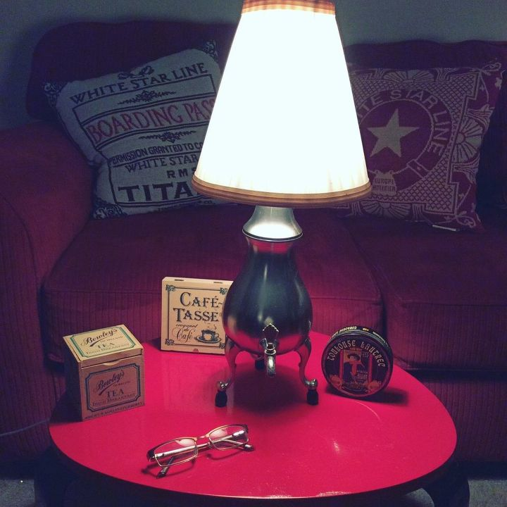more up cycled lamps for 2016, lighting