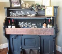 1800 s eastlake pump organ repurposed into a wine bar, diy, painted furniture, repurposing upcycling