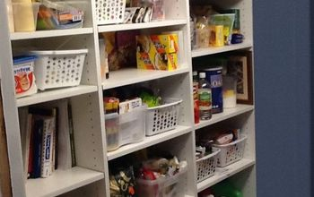 Pantry/laundry Room Went From Confined to Wonderful