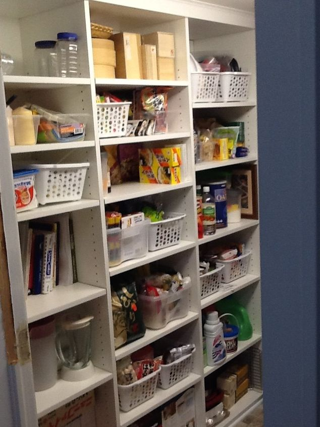 pantry laundry room went from confined to wonderful, closet, diy, home maintenance repairs, laundry rooms