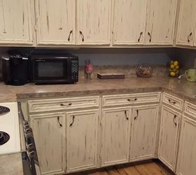 step by step faux granite countertops countertops how to painted furniture