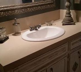 Step By Step Faux Granite Countertops, Countertops, How To, Painted  Furniture