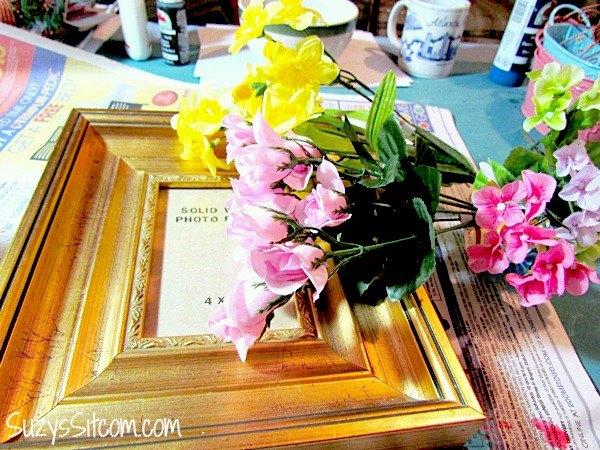How to make a faux porcelain frame hometalk how to make a faux porcelain frame crafts mightylinksfo