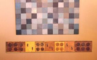 make your own lego coat rack, diy, wall decor, woodworking projects