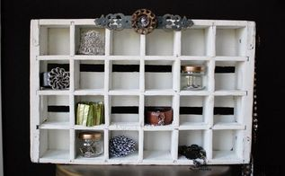 soda crate jewelry organizer, organizing, repurposing upcycling, storage ideas