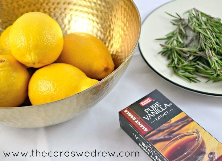 diy air freshener with three ingredients, cleaning tips, how to