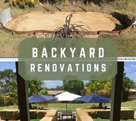 Backyard Reno Roof Railings Rocks, Diy, Gardening, Landscape, Outdoor Living,  Roofing