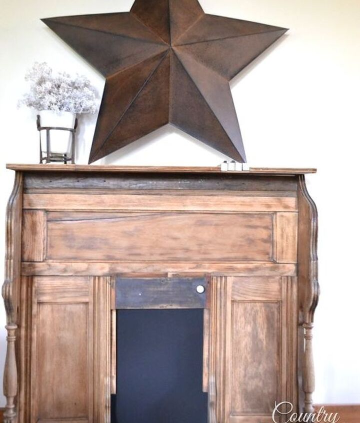 i can t play the organ but i can turn an old organ into a mantel, chalkboard paint, fireplaces mantels, painted furniture, repurposing upcycling, woodworking projects
