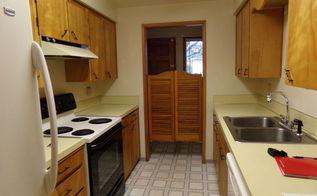q decorating galley kitchen, kitchen design, new kitchen