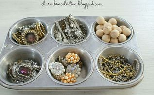 new year s jewelry storage and more vintage style, organizing, storage ideas