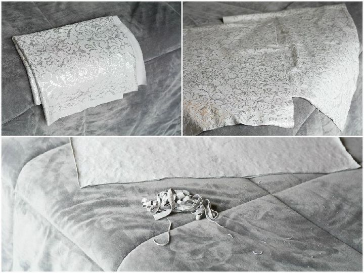 how to make super easy no sew pillows, crafts, how to, reupholster