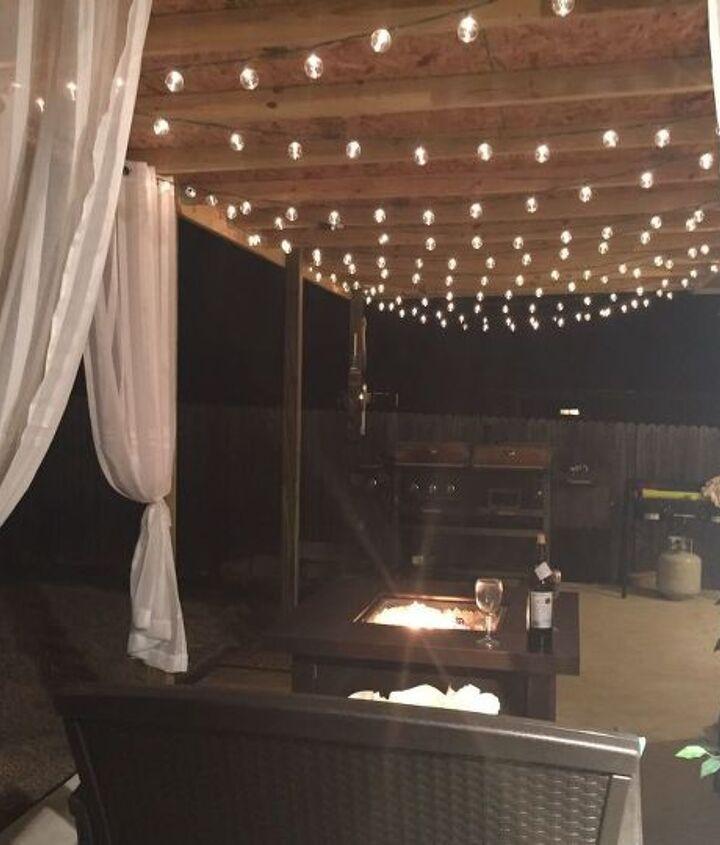 backyard makeover, diy, gardening, landscape, lighting, outdoor furniture, outdoor living, patio