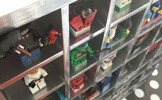 diy lego mini fig storage for cheap, crafts, storage ideas, wall decor