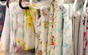 13 Stunning Vintage Fabric Ideas That'll Send You to the Thrift Store