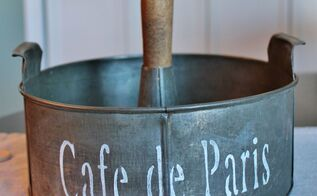 how to make a vintage cake tin caddy, organizing, repurposing upcycling, storage ideas