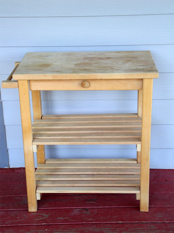 Transform A Yard Microwave Table For Minimal Work Painted Furniture