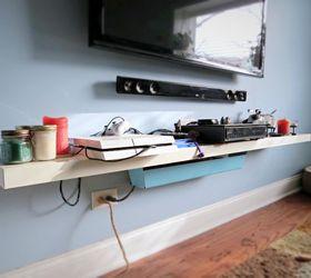 Tv Console Ideas Magnificent Wall Mounted Tv Console Hometalk Design Ideas
