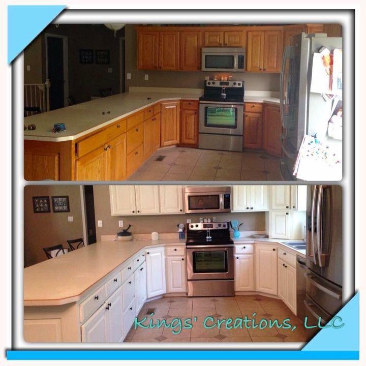 Paint Kitchen Cabinets Antique White: General Finishes Milk Paint Kitchen Makeover! Antique