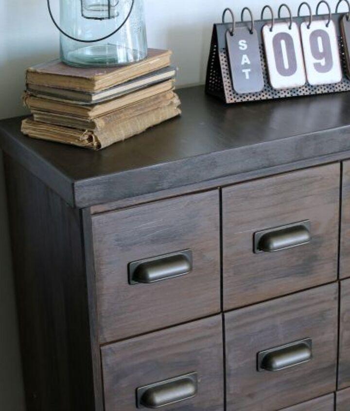 apothecary cabinet ikea rast hack paintjob, chalk paint, painted furniture
